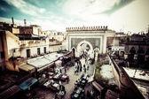 摩洛哥非斯的一般看法 — 图库照片