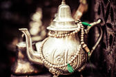 Silver Tea Pot — Stock Photo