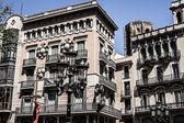 Architecture in Barcelona, Spain — Stok fotoğraf