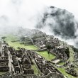 Machu Picchu, the ancient Inca city in the Andes, Peru — Stok fotoğraf