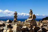 Isla del sol sur le lac titicaca, bolivie. — Photo