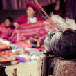 Traditional village in Peru, South America. — Stock Photo