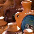 Ceramic in local market in Peru, South America. — Stock Photo