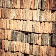 Vintage brick wall rusty colored abstract background. — Stock Photo #26880325