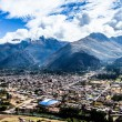 Stock Photo: Urubamba River in Peru