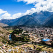 Urubamba River in Peru — Stock Photo