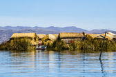 Uros Floating Islands, Lake Titicaca, Peru — Stock Photo