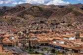 Vista general de la ciudad de cuzco, perú — Foto de Stock