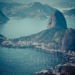 Rio de Janeiro, Brazil. Suggar Loaf and Botafogo beach viewed from Corcovado — Stock Photo #27086927