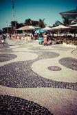 Copacabana Beach, Rio de Janeiro, Brazil — Stock Photo