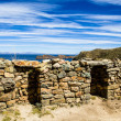 Isla del Sol on the Titicaca lake, Bolivia. — Stock Photo