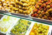 Typical spanish food market. — Stock Photo