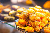 Spanish Tapas & Crusty Bread — Stock Photo