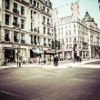 Regent Street is one of major shopping streets in Europe, London — Stock Photo #27712713