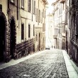 Stock Photo: Old europestreet, Bergamo, Italy