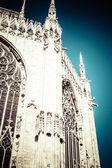 Duomo of Milan, (Milan Cathedral), Italy. — Stock Photo