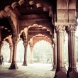 Red Fort (Lal Qila) Delhi - World Heritage Site. Delhi, India — Stock Photo