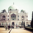 Stock Photo: Humayun's Tomb, New Delhi, India