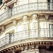A noble historic house in Marseille in South France — Stock Photo