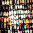 Stock Photo: Multicoloured Moroccslippers, Marrakesh