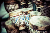 Drums from Moroccan Market — Stock Photo
