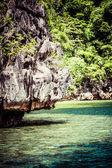 Tropical seashore. Coron, Busuanga island, Palawan province, Philippines. — Stock Photo