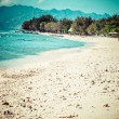 Beautiful sea and coastlines of Gili Trawangan, Indonesia. — Stock Photo