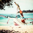 Stock Photo: Beautiful seand coastlines of Gili Trawangan, Indonesia.