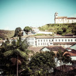 View of the unesco world heritage city of Ouro Preto in Minas Gerais Brazil — ストック写真
