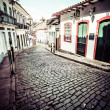 Stock Photo: View of unesco world heritage city of Ouro Preto in Minas Gerais Brazil