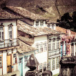 View of the unesco world heritage city of Ouro Preto in Minas Gerais Brazil — Stock Photo