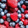 Different fresh berries as background — Stock Photo #30165421