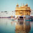 Sikh gurdwara Golden Temple (Harmandir Sahib). Amritsar, Punjab, India — Stock Photo #34264781