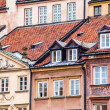 Traditional architecture in Warsaw, Poland — Foto de Stock