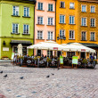Castle Square in Warsaw, Poland  — Stock Photo