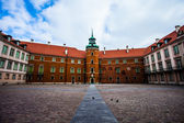 Royal Castle in the old town of Warsaw, Poland — Stock Photo