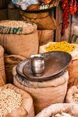 TRaditional food market in India. — Stock Photo