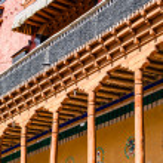 Thiksey Monastery, Ladakh,India — Stock Photo #34612527