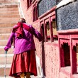 Stock Photo: Thiksey Monastery, Ladakh,India