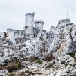 The old castle ruins of Ogrodzieniec fortifications, Poland. — Stock Photo #35135371
