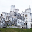 The old castle ruins of Ogrodzieniec fortifications, Poland. — Stock Photo #35135571