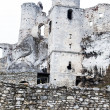 The old castle ruins of Ogrodzieniec fortifications, Poland. — Stock Photo #35135671