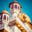 Stock Photo: Sikh gurdwarGolden Temple (Harmandir Sahib). Amritsar, Punjab, India