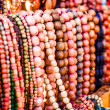 Wooden colored beads on display on market inZakopane, Poland — ストック写真 #35666089
