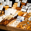 Traditional polish smoked cheese oscypek on outdoor market in Zakopane — ストック写真 #35669121