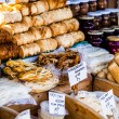 Traditional polish smoked cheese oscypek on outdoor market in Zakopane — ストック写真 #35669181