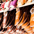 Traditional polish leather in local market in Zakopane. — Stock Photo #35669307