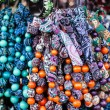 Colorful beads according to the art of contemporary mountaineers from Zakopane — Stock Photo #35669647