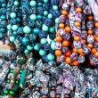 Colorful beads according to the art of contemporary mountaineers from Zakopane — Stock Photo #35669673