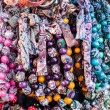 Colorful beads according to the art of contemporary mountaineers from Zakopane — Stock Photo #35669709